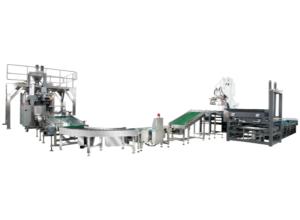 Автоматическая поточная линия упаковки и штабелирования
